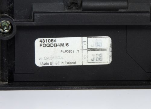 General Electric Fd-Rcd Trip  FDQ160 FDQDB4M/6 431084 220-440V AC  4 Pole