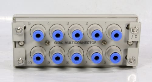 Smc Pneumatic Air Line 10 Ports MULTICONNECTOR 5/32