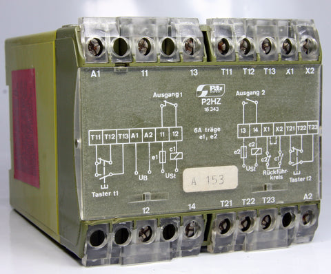 Pilz Safty Relay P2HZ 474162/1