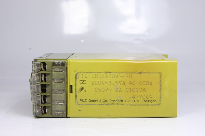 PILZ P1U-1NB VOLTAGE MONITORING RELAY