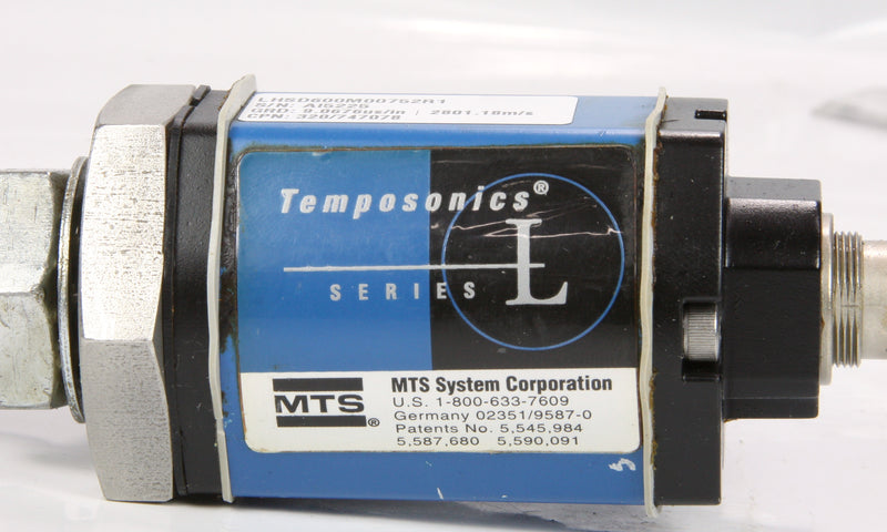 Temposonics Mts Position Sensor LHSD600M00752R1 Al5225 Series L