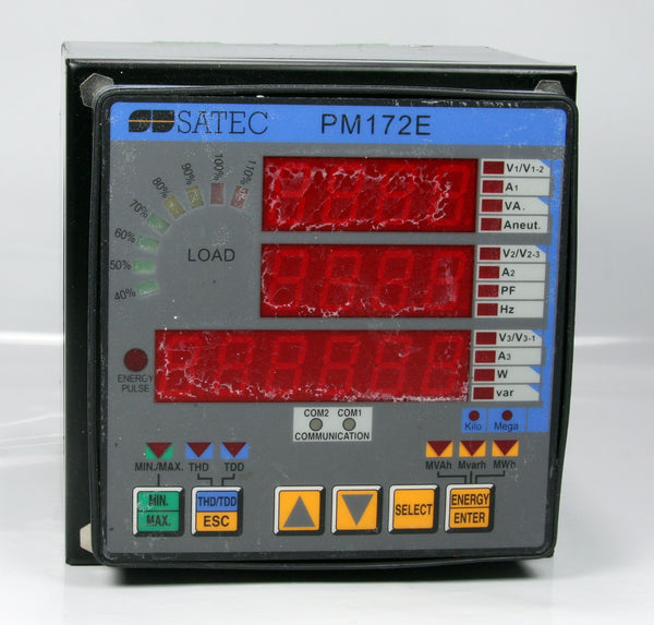 Satec  High Performance Revenue Feeder Monitor Meter PM172E