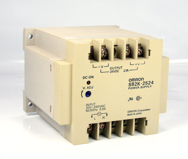 Omron Power Supply S82K-2524