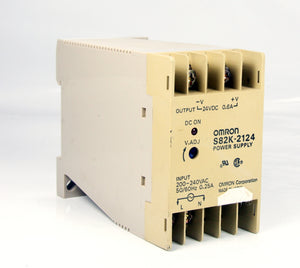 Omron Power Supply S82K-2124