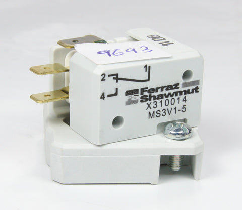 *New* Ferraz Shawmut Microcontact Microswitch For Fuses X310014 MS3V1-5