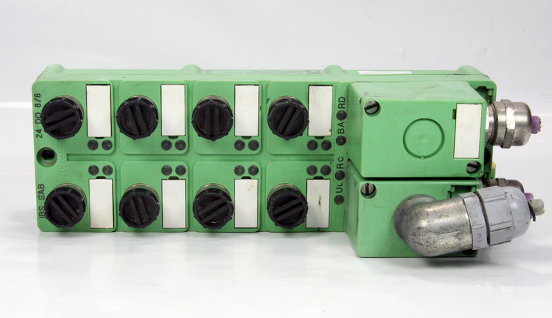 Phoenix Interbus  8-Channel Contact Modul IBS SAB 24 DO 8/8 24 V DC