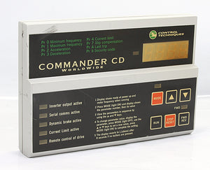 Control Techniques Keypad Programming Terminal  DCN 93400 Commander Cd