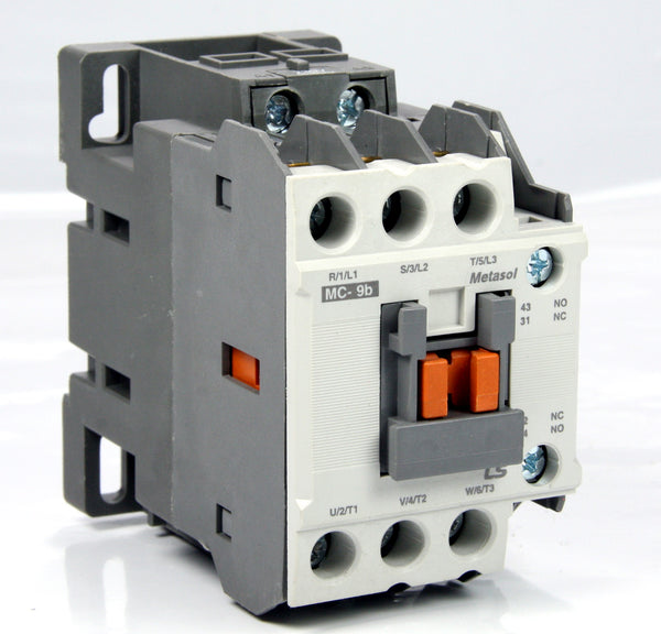 Ls Metasol Contactor Relay MC-9B 230V 50/60HZ 3 Pole 25A 4kW 7.5Hp