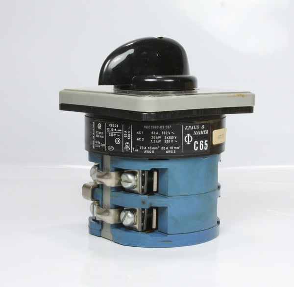 *New* KRAUS & NAIMER Rotary Switch C65