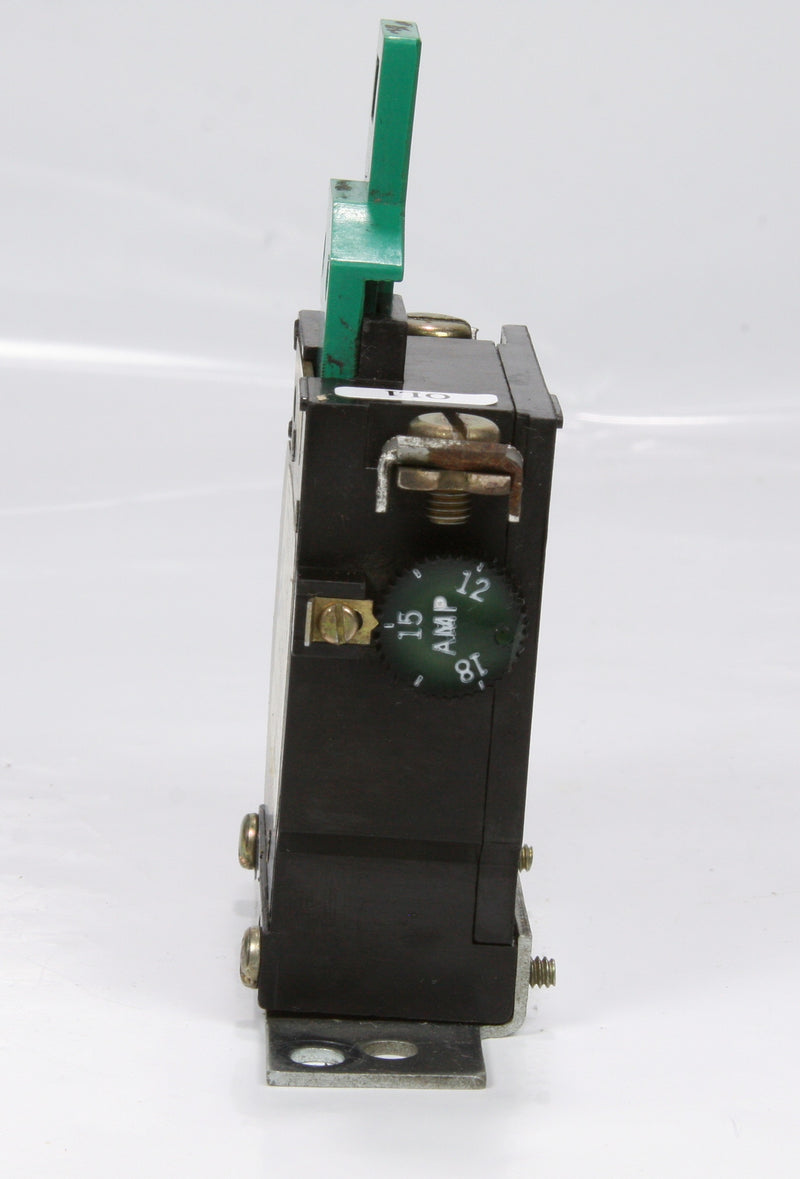 Cutler Hammer Thermal Overload Relay FT11P-18 12-18A