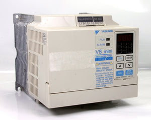 Yaskawa Inverter  Ac Drive CIMR-XCACB1P5 VS mini 200-240V 50/60HZ 1 Pole 1.5kW