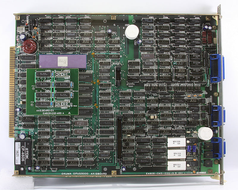 Okuma Circuit Board Pcb E4809-045-039-D OPUS 5000 AXIS BOARD CPU