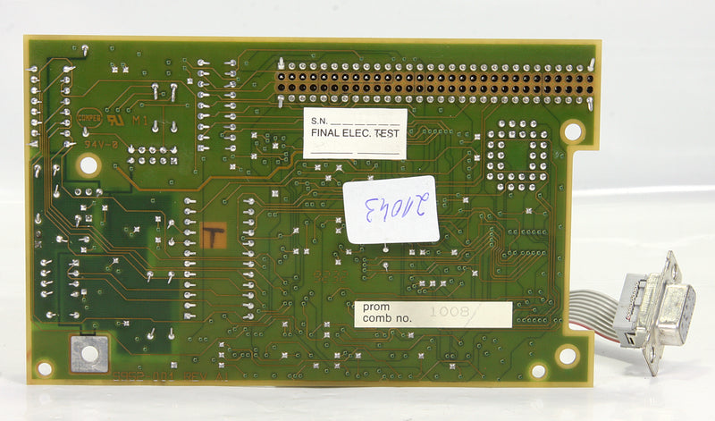 Modicon Circuit Board Pcb 5952-001 REV A1 ASSY 5952-000 REV A