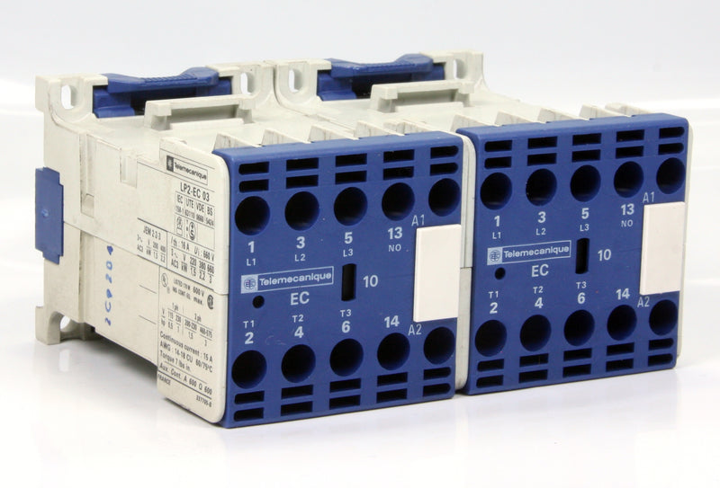 Telemecanique Contactor LP2-EC 03 24V 10 Pole 16A 3kW 3Hp