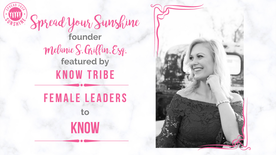 KNOW Women Featured Story: Female Leaders to KNOW