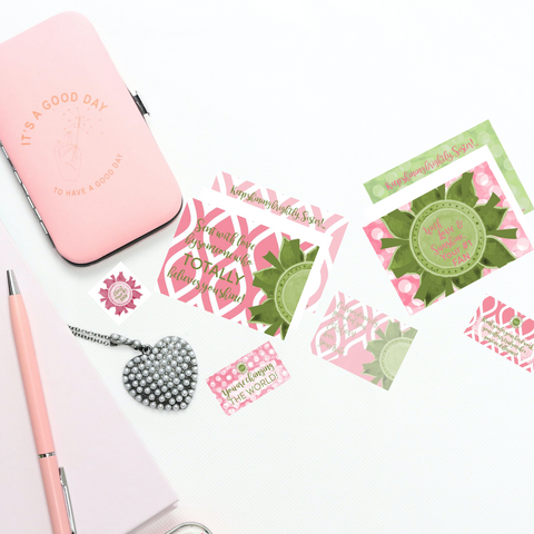 Spread Your Sunshine- Sister Pink & Green Collection