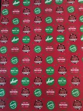Load image into Gallery viewer, Wishing you a Merry Christmas! You rock the holidays!- Red & Green Wrapping Paper