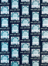 Load image into Gallery viewer, Ho Ho Ho! You make the holidays!- Dark Navy Wrapping Paper