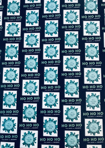 Ho Ho Ho! You make the holidays!- Dark Navy Wrapping Paper