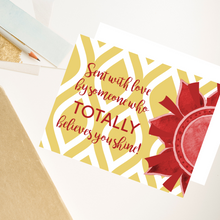 "Load image into Gallery viewer, Cardinal & Straw ""Sister"" Collection Individual Stationery Card"