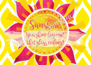 "Classic ""Sunshine"" Collection Traditional Stationery Set"
