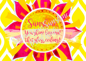 "Classic ""Sunshine"" Collection #ShineItForward Individual Stationery Set"