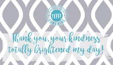 "Load image into Gallery viewer, Teal & Gray ""Sister"" Collection Positivity Cards"