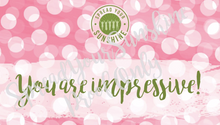 "Load image into Gallery viewer, Rose Pink & Green ""Sister"" Collection Positivity Cards"