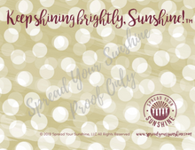 "Load image into Gallery viewer, Garnet & Gold ""Sunshine"" Collection #ShineItForward 4-Pack Stationery Set"