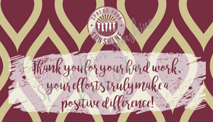 "Garnet & Gold ""Sunshine"" Collection Positivity Cards"