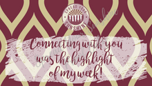 "Load image into Gallery viewer, Garnet & Gold ""Sunshine"" Collection Positivity Cards"