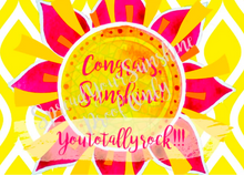 "Load image into Gallery viewer, Classic ""Sunshine"" Collection Individual Stationery Card"