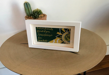 "Load image into Gallery viewer, Green & Gold ""Sunshine"" Collection Framed Prints"