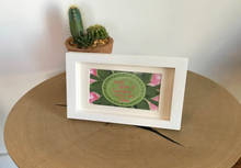 "Load image into Gallery viewer, Rose Pink & Green ""Sister"" Collection Framed Prints"