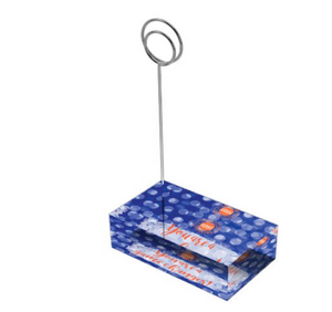 "Blue & Orange ""Sunshine"" Collection Tall Card Holders"