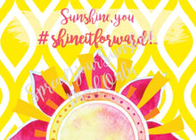 "Load image into Gallery viewer, Classic ""Sunshine"" Collection II #ShineItForward 8-Pack Stationery Set"