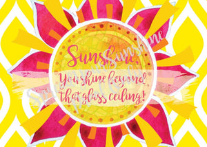 "Classic ""Sunshine"" Collection II #ShineItForward 8-Pack Stationery Set"