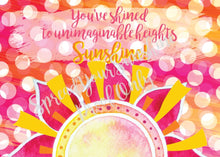 "Load image into Gallery viewer, Classic ""Sunshine"" Collection #ShineItForward Individual Stationery Set"
