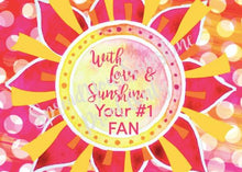 "Load image into Gallery viewer, Classic ""Sunshine"" Collection I #ShineitForward 4-Pack Stationery Set"