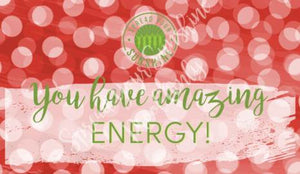 Affirmation Cards - Red, Buff & Green Collection
