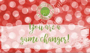 "Red, Buff, & Green ""Sister"" Collection Positivity Cards"