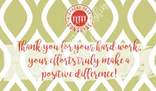 "Load image into Gallery viewer, Scarlet Red & Olive Green ""Sister"" Collection Positivity Cards"