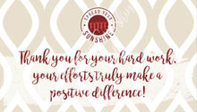 "Load image into Gallery viewer, Crimson & Pearl White ""Sister"" Collection Positivity Cards"