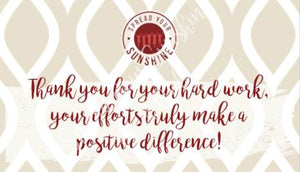 "Crimson & Pearl White ""Sister"" Collection Positivity Cards"
