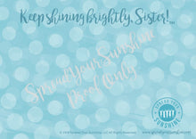 "Load image into Gallery viewer, Teal & Gray ""Sister"" Collection #ShineItForward 8-Pack Stationery Set"