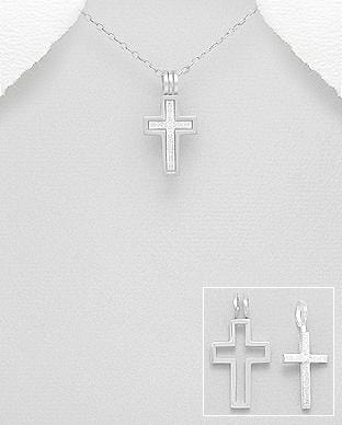 TRIPLE CROSS PENDANT