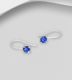 CRYSTAL GLASS EAR CUFFS (3 colors)