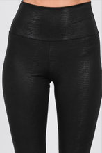 Load image into Gallery viewer, HIGH WAIST FAUX LEATHER LEGGINGS