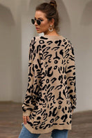 LEOPARD PRINT OVERSIZED SWEATER (2 colors)