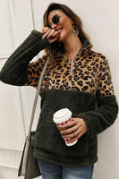 LEOPARD PRINT PULLOVER (3 colors)